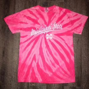 Tops - Mississippi State Tie Dye T-shirt